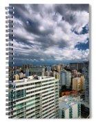 San Juan Puerto Rico Cityscape Spiral Notebook