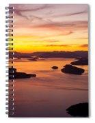 San Juans Sunset Spiral Notebook