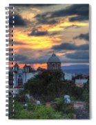 San Miguel De Allende Sunset Spiral Notebook