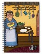 San Pascuals Kitchen 2 Spiral Notebook