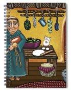 San Pascuals Kitchen Spiral Notebook