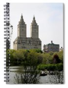 San Remo Towers Nyc Spiral Notebook
