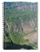 San Salvador Volcano Spiral Notebook