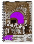 San Xavier Del Bac Church C.1885 Number 1  Tucson Arizona 1885-2008 Spiral Notebook