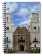 San Xavier Del Bac Mission Facade Spiral Notebook