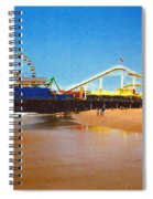 Sana Monica Pier Spiral Notebook