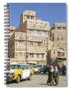 Sanaa Old Town In Yemen Spiral Notebook