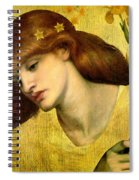 Sancta Lilias 1874 Spiral Notebook