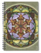 Sanctuary Mandala Spiral Notebook