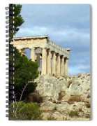 Sanctuary Of Aphaia 2 Spiral Notebook