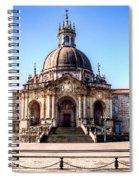 Sanctuary Of Loyola Spiral Notebook