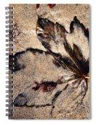 Sand Art Spiral Notebook