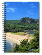 Sand Beach And The Beehive Spiral Notebook