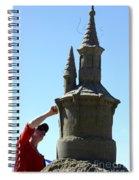 Sand Castle 1 Spiral Notebook