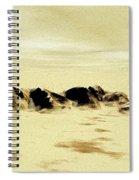 Sand Desert Spiral Notebook