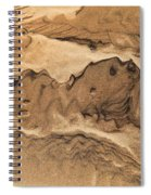 Sand Dog Spiral Notebook