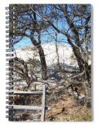 Sand Dune With Trees Spiral Notebook