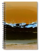 Sand Dunes In White Spiral Notebook