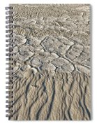 Sand Dunes Like Fine Cloth Spiral Notebook