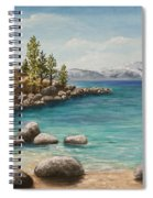 Sand Harbor Lake Tahoe Spiral Notebook