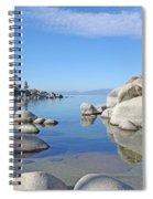 Sand Harbor-lake Tahoe Spiral Notebook