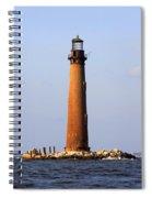 Sand Island Lighthouse - Alabama Spiral Notebook