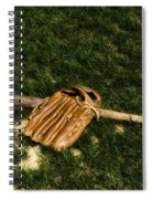 Sand Lot Baseball Spiral Notebook