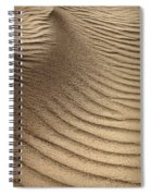 Sand Pattern Abstract - 3 Spiral Notebook