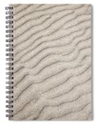 Sand Ripples Natural Abstract Spiral Notebook