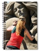Sand Sculptor Spiral Notebook
