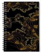 Sand Seafoam And Sky Spiral Notebook