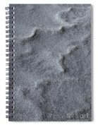 Sand Swirls Spiral Notebook