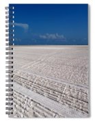 Sand Trails Spiral Notebook