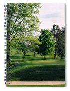 Sand Traps On A Golf Course, Baltimore Spiral Notebook