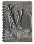 Sand Trees Spiral Notebook
