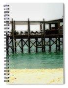 Sandals Resort Nassau Pier Spiral Notebook