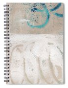 Sandcastles- Abstract Painting Spiral Notebook