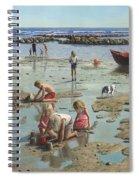 Sandcastles Spiral Notebook
