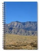 Sandia Mountains Spiral Notebook