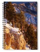 Sandia Peak Summit Albuquerque New Mexico Spiral Notebook