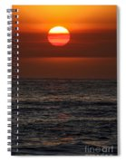 Sandi's Sunset By Diana Sainz Spiral Notebook