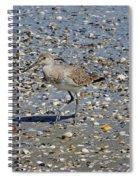 Sandpiper Galveston Is Beach Tx Spiral Notebook