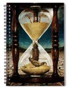 Sands Of Time ... Memento Mori  Spiral Notebook