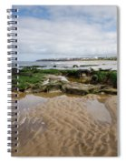Sands Of Whitley Bay Spiral Notebook