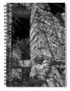 Sandstone Arch Jerome Black And White Spiral Notebook