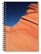 Sandstone Bands Spiral Notebook