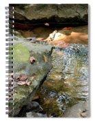 Sandstone Boulders At Hurricane Branch Spiral Notebook
