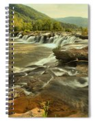 Sandstone Falls Landscape Spiral Notebook