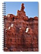 Sandstone Goblin Valley Spiral Notebook