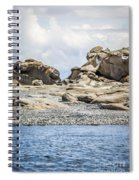 Sandstone Island Sculptures Spiral Notebook